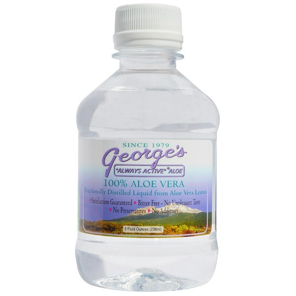 George's Aloe Vera, 100 % жидкий алоэ вера, 8 жидких унций (Discontinued Item)