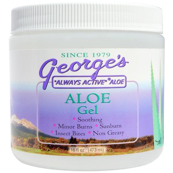 George's Aloe Vera, Гель с алое, 16 жидких унций (473 мл) (Discontinued Item)