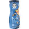 Gerber, Снек Puffs с хлопьями, для младенцев, умеющих ползать (в возрасте от 8месяцев), со вкусом персика, 42г (1,48унции)