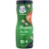 Gerber, Органические палочки, для детей в возрасте 8 месяцев и старше, яблоко, 42г (1,48унции)