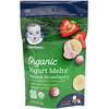 Gerber, Organic, Yogurt Melts, для малышей от 8месяцев, с бананом и клубникой, 28г (1,0унция)