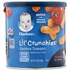 Gerber, Lil' Crunchies, для малышей, умеющих ползать (от 8 месяцев), со вкусом томатов, 42г (1,48унции)