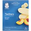 Gerber, Teethers, Gentle Teething Wafers, 7+ Months, Banana Peach, 12 Packs, 2 Wafers Each