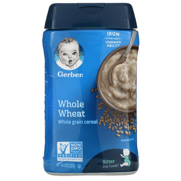Whole Wheat, Whole Grain Cereal, 8 oz (227 g)