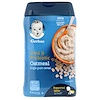 Gerber, DHA & Probiotic, Single Grain Oatmeal Cereal, 8 oz (227 g)