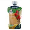 Gerber, Smart Flow, Organic, банан, клубника и малина, смешанные злаки, от 12 месяцев, 99г (3,5унции)