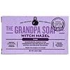 Grandpa's, Кусковое мыло для лица и для тела, тонизирующее, с гамамелисом, 4,25 унции (120г)