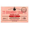 Grandpa's, Кусковое мыло для лица и для тела, очищающее, с розовой глиной, 4,25 унции (120г)