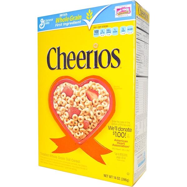 General Mills, Сухой завтрак Cheerios, 14 унций (396 г) (Discontinued Item)