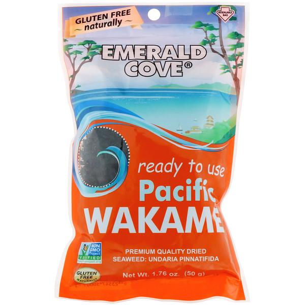 Great Eastern Sun, Изумрудная бухта, тихоокеанский вакамэ, 1,76 унции (50 г) (Discontinued Item)