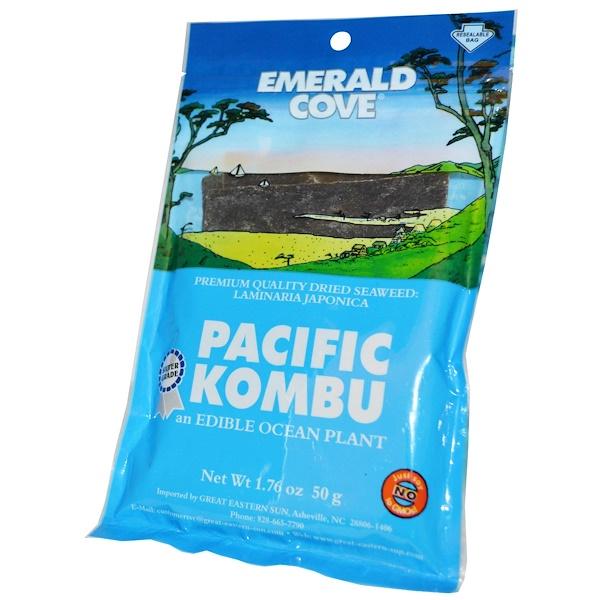 Great Eastern Sun, Pacific Kombu, сушеные морские водоросли, 1,76 унции (60 г) (Discontinued Item)