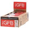 The GFB, Безглютеновый батончик, клюква и обжаренный миндаль, 12батончиков, 58г каждый