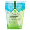 Grab Green, Стиральный порошок 3 в 1, без запаха, на 24 загрузки, 15.2 унций (432 г)