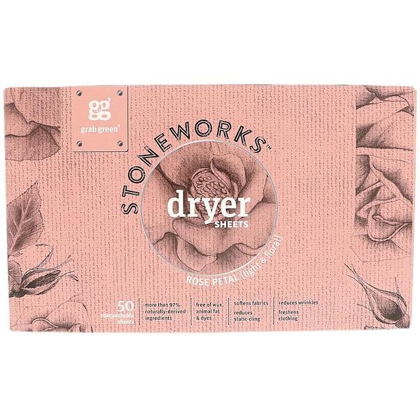 Stoneworks, листы для сушилки, розовые лепестки, 50 листов