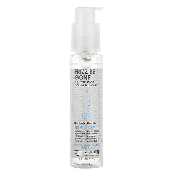 Frizz Be Gone, сыворотка для разглаживания вьющихся волос, 81 мл