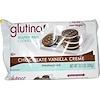 Glutino, Безглютеновое печенье с шоколадно-ванильным кремом, 10,5унций (300г)
