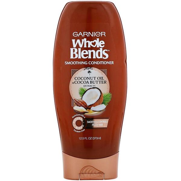 Разглаживающий кондиционер Whole Blends, «Масла кокоса и какао», 370мл