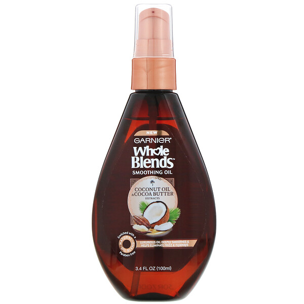 Whole Blends, разглаживающее масло «Масла кокоса и какао», 100мл