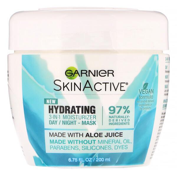 SkinActive, Hydrating 3-in-1 Moisturizer with Aloe Juice, 6.75 fl oz (200 ml)