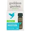 Goddess Garden, Органический продукт, Счастливый день, Купаж для ароматерапевтического браслета, 0,125 ж. унц.(3,7 мл)