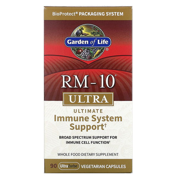 RM-10 Ultra, Ultimate Immune System Support, 90 Vegetarian Capsules
