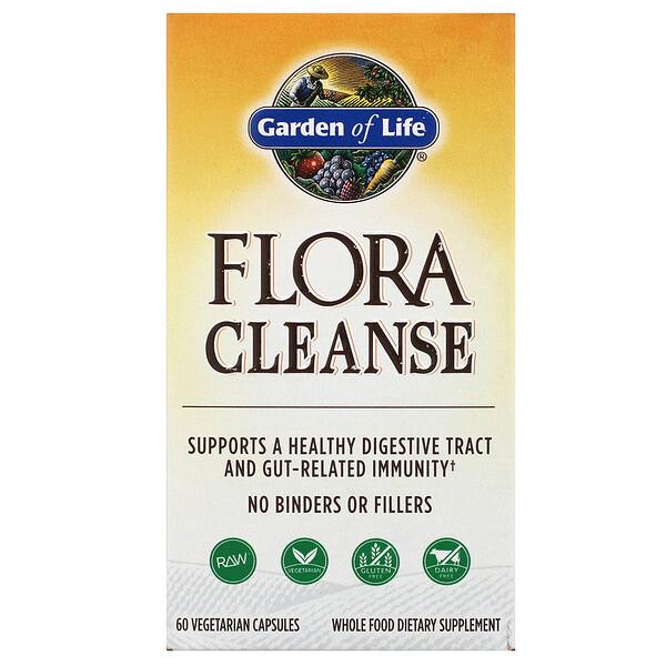 Flora Cleanse, 60 Vegetarian Capsules
