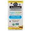 Garden of Life, Пробиотики Dr. Formulated, Organic Kids +, вкусная органическая клубника и банан, 30 восхитительных жевательных таблеток