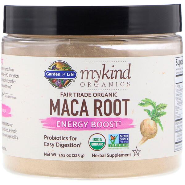 MyKind Organics, корень органической маки со знаком этичной торговли, заряд энергии, 225г (7,93унции)