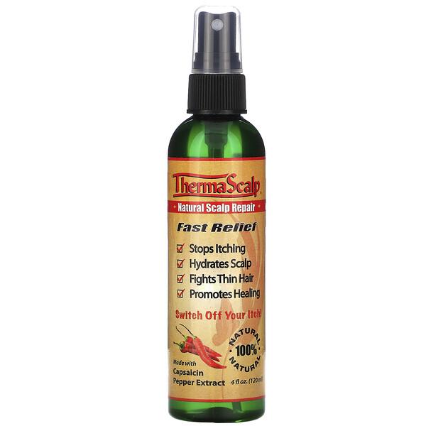 ThermaScalp, натуральное восстанавливающее средство для кожи головы, 120 мл (4 жидких унции)