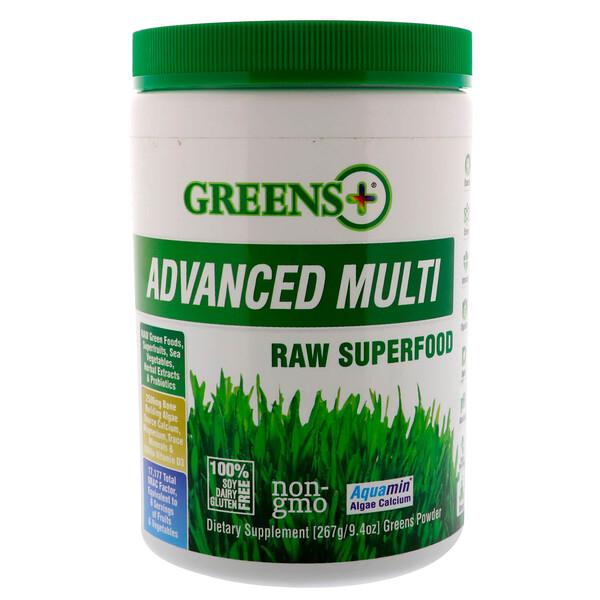 Усовершенствованный суперпродукт, порошок из сырых овощей и зелени , 9.4 унций (276 г)