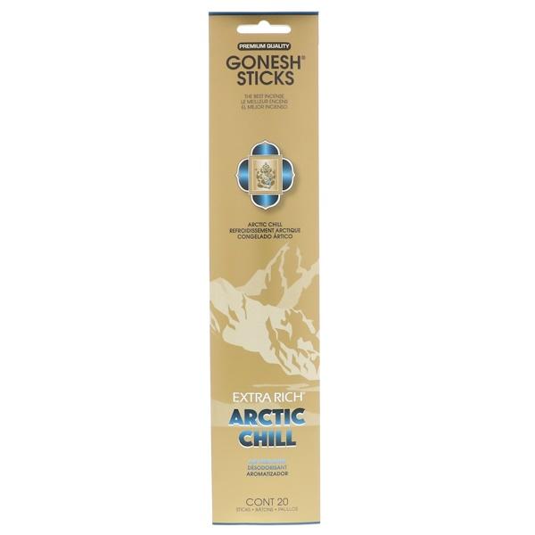 Gonesh, Ароматические палочки с интенсивным запахом, арктический холод, 20 штук (Discontinued Item)