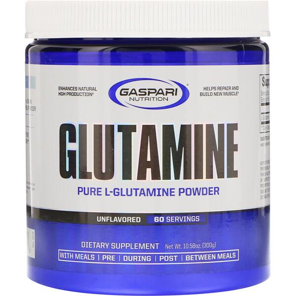 Глютамин, без ароматизаторов, 10,58 унций (300 г)