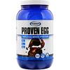 Gaspari Nutrition, Proven Egg, 100% протеин из яичного белка, шоколад, 900г