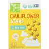 From The Ground Up, Cauliflower Stars, Sea Salt, 3.5 oz (99 g)