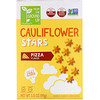 From The Ground Up, Cauliflower Stars, Baked Snack Crackers, Pizza, 3.5 oz (99 g)