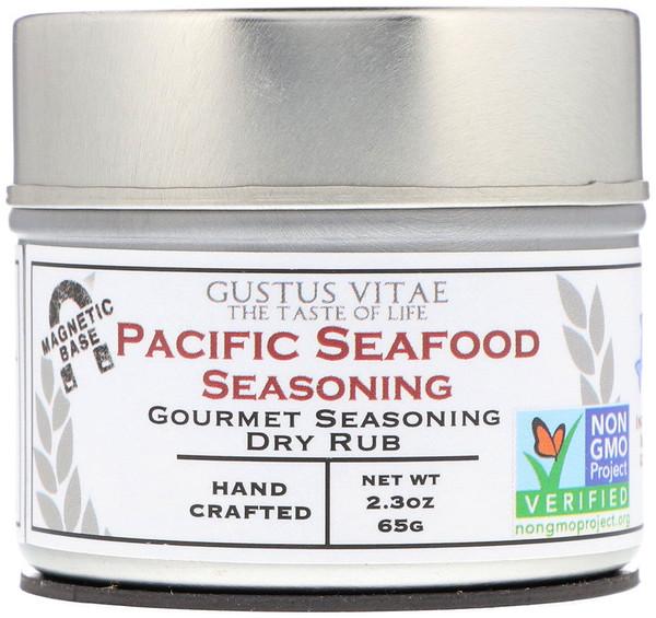 Деликатесная смесь сухих специй, приправа для тихоокеанских морепродуктов, 2,3 унц. (65 г)