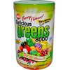 Greens World, Вкусная зелень 8000, ягодный вкус, 10,6 унций (300 г)