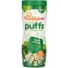 Happy Family Organics, Колечки из суперпродуктов, органическая злаковая закуска, капуста и шпинат, 60 г (2,1 унции)