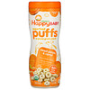 Happy Family Organics, Superfood Puffs,  Organic Grain Snack, Sweet Potato & Carrot, 2.1 oz (60 g)