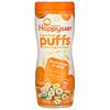 Happy Family Organics, Колечки из суперпродуктов, органическая злаковая закуска, сладкий картофель и морковь, 60 г (2,1 унции)