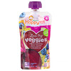 Happy Family Organics, Organics Happy Tot, «Вкусные овощи», органическое пюре из бананов, свеклы, тыквы и голубики, 120г