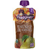 Happy Family Organics, Organic Baby Food, Stage 2, Clearly Crafted, 6+ Months, Pears, Squash & Blackberries, 4 oz (113 g)