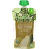 Happy Family Organics, Organic Baby Food, Stage 2, 6+ Months, Pears, Zucchini & Peas, 4 oz (113 g)
