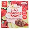 Happy Family Organics, Happy Tot, Super Morning Bowl, овес + проросшая киноа, органические бананы и клубника, 4,5 унц. (128 г)