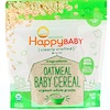 Happy Family Organics, Clearly Crafted, Oatmeal Baby Cereal, 7 oz (198 g)