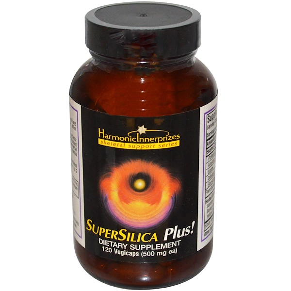 Harmonic Innerprizes, SuperSilica Plus!, 500 mg, 120 Veggie Caps (Discontinued Item)