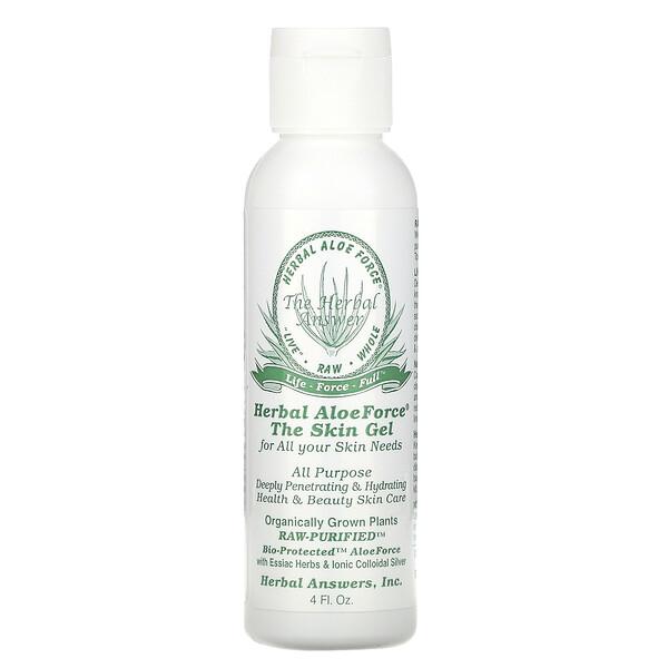 Herbal Aloe Force, гель для кожи, 4 жидкие унции