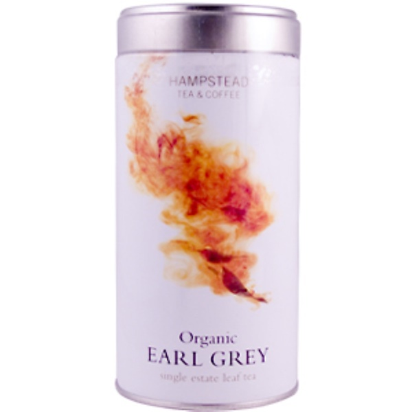 Hampstead Tea, Organic Earl Grey, 4.38 oz (125 g) (Discontinued Item)