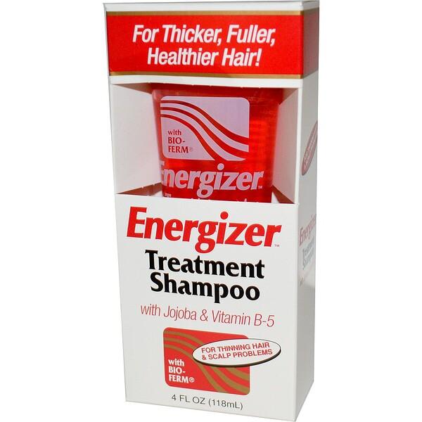 Энергетический шампунь для лечения волос с жожоба и витамином B-5, 118 мл