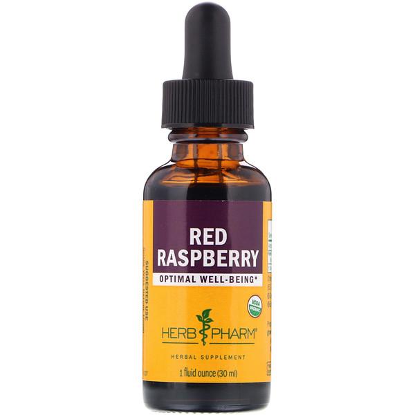Herb Pharm, Red Raspberry, 1 fl oz (30 ml) (Discontinued Item)